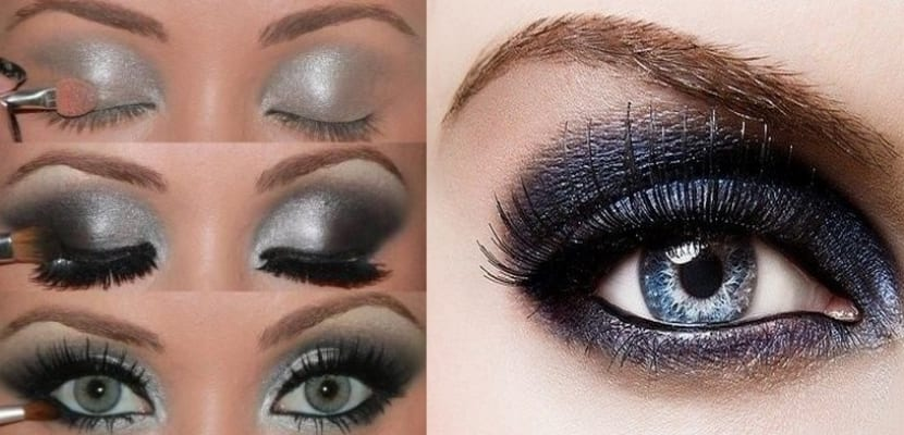 Smokey Eyes en color gris
