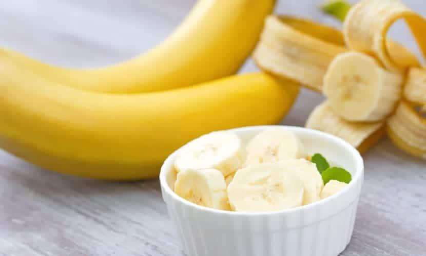 Mascarillas caseras para la piel seca con plátano