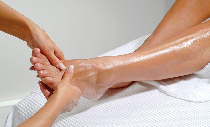 Mejorar la circulación con masajes