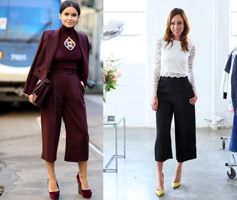 Culottes para cita formal