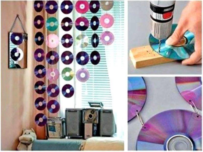 REcila tus viejos CD para decorar el hogar
