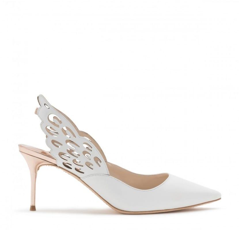 Zapato blanco original