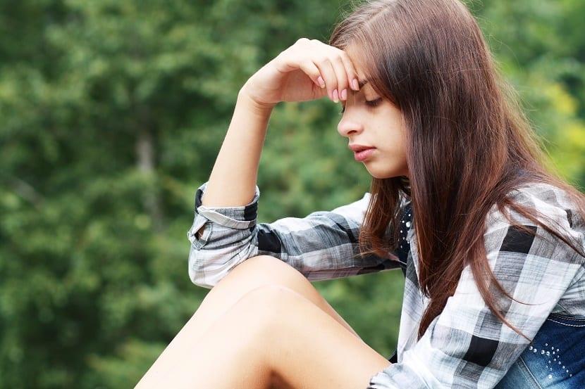 adolescente con ansiedad