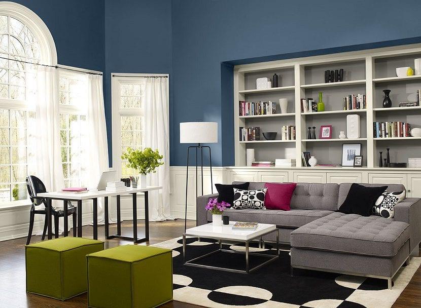Consejos para elegir una buena combinaci n de colores en for Colores de pintura para sala