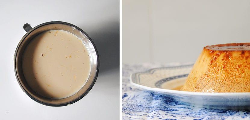 Flan con leche condensada en olla rápida