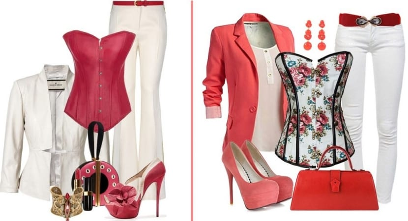 Looks en color rojo