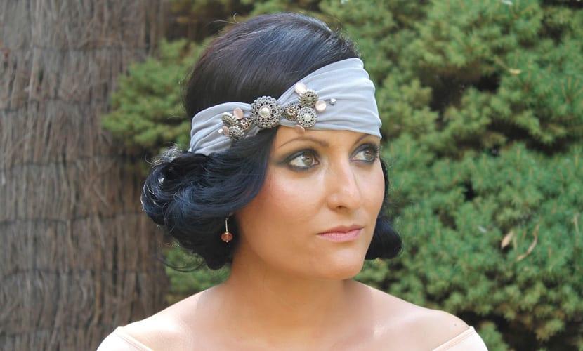 Peinados vintage para invitadas de boda