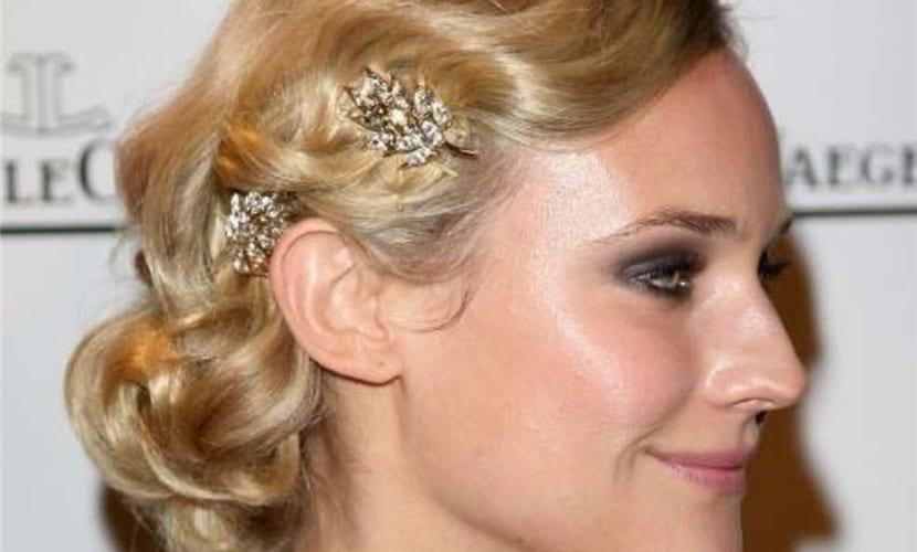 Peinados joya para invitadas de boda