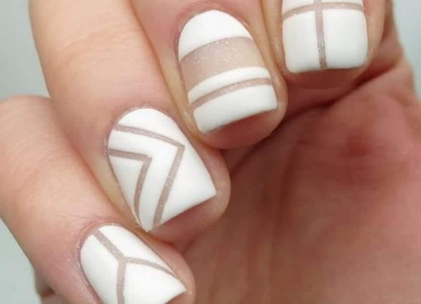 Diseño geométrico para uñas