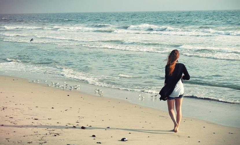 Pasear por la orilla