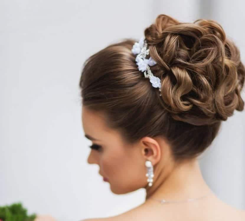 Peinados para bodas recogidos 2016