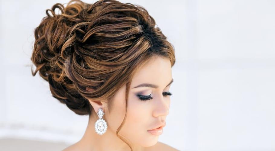 Recogidos altos Peinados para las bodas ms modernas