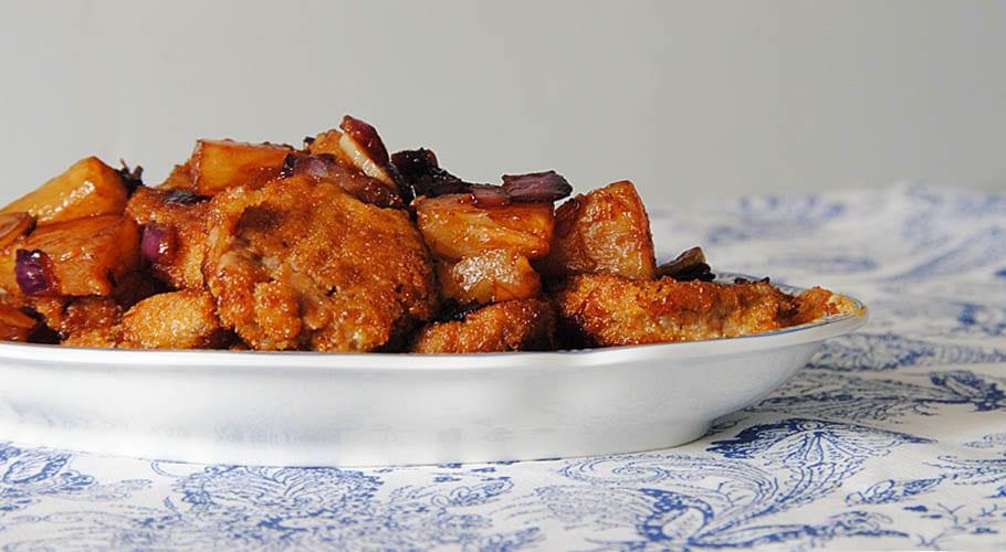 Solomillo al horno con pi a y salsa de soja - Solomillo a la pimienta al horno ...