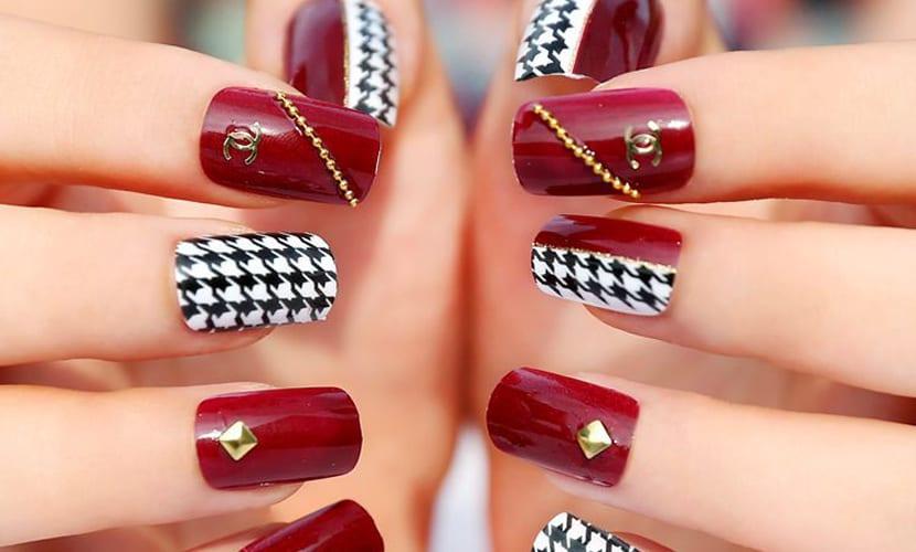 Diseño chic uñas
