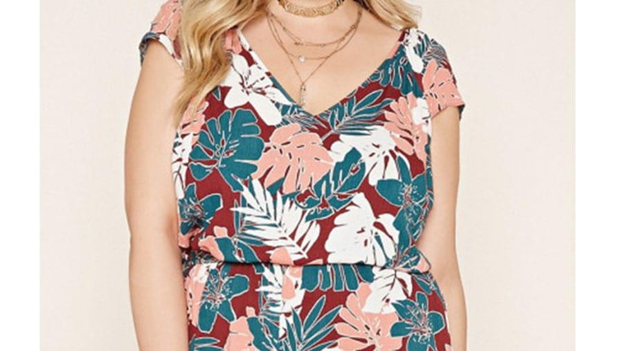 Vestido plus size Forever 21 1
