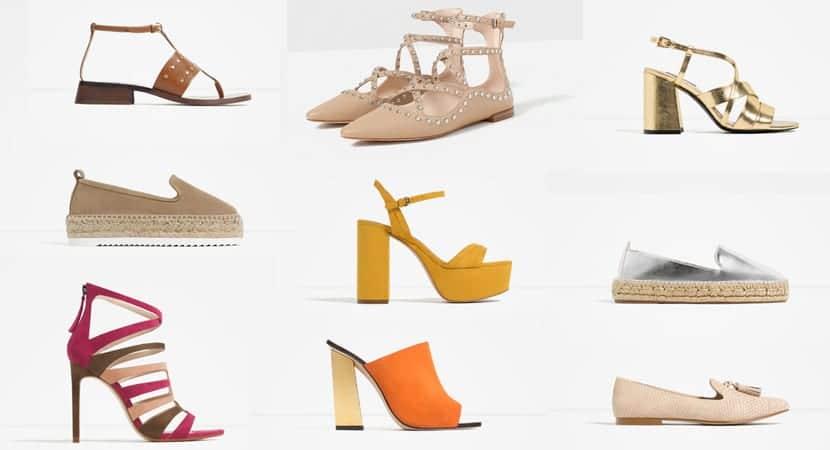 158ae31622 Los zapatos planos o bailarinas se presentan en su versión más actual, con  lazos, y en colores muy femeninos y elegantes. Las alpargatas, planas o con  ...