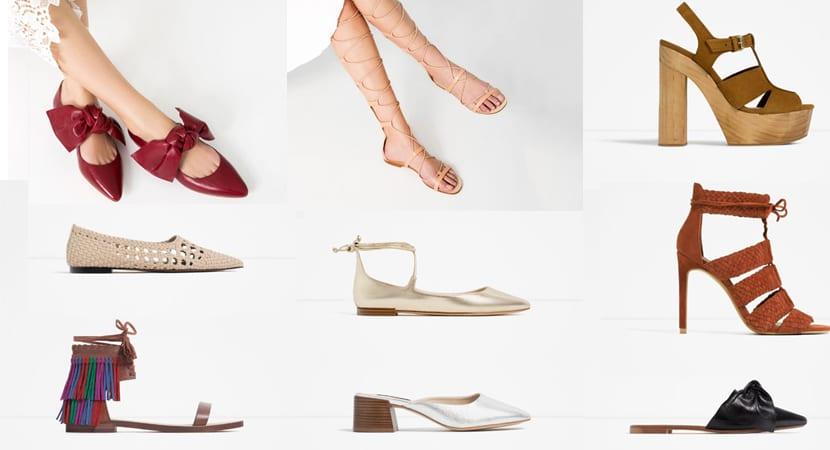792e65ccc4 ... y los estampados vuelven a erigirse como una de las tendencias estrella  en calzado de verano. En la colección de Zara destaca el clásico animal  print, ...