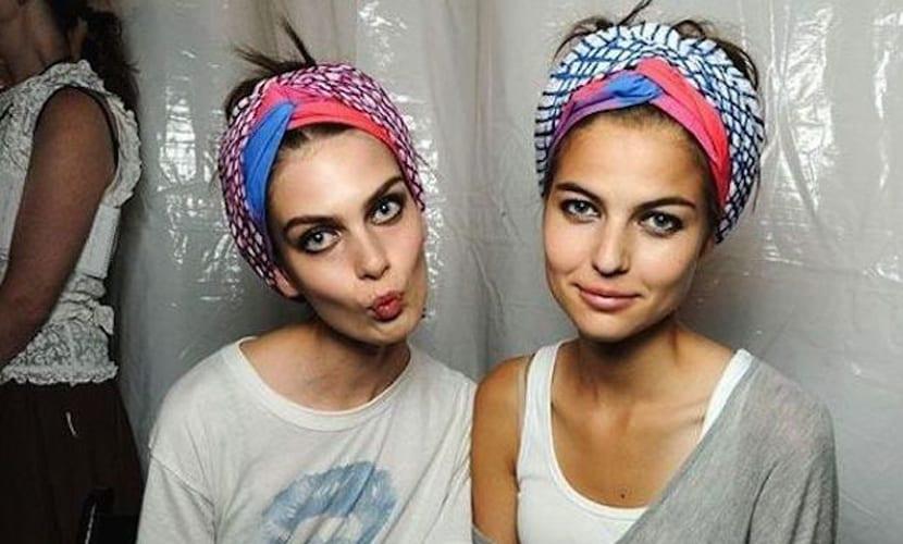 Pañuelo étnico para el pelo