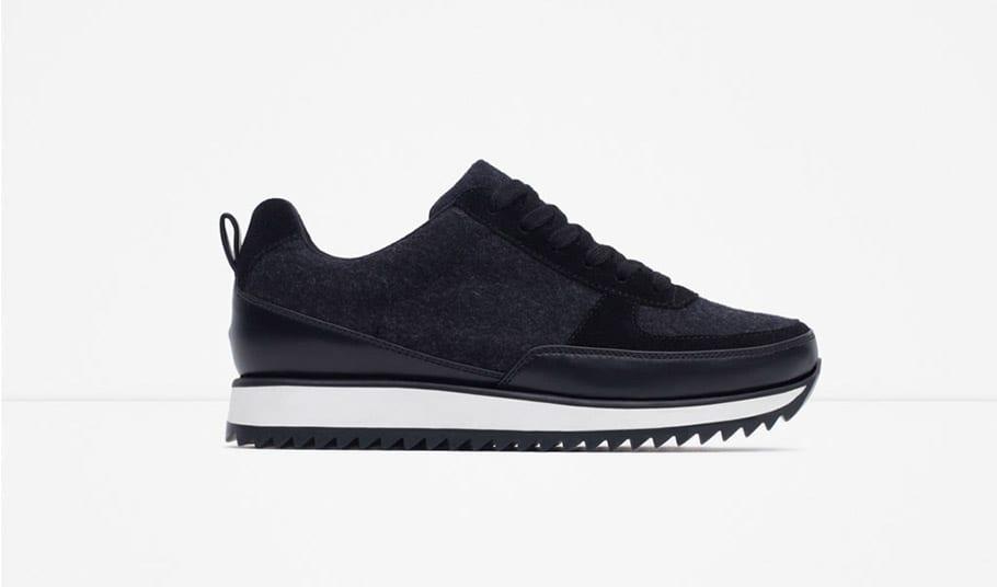 Sneakers Zara combinadas