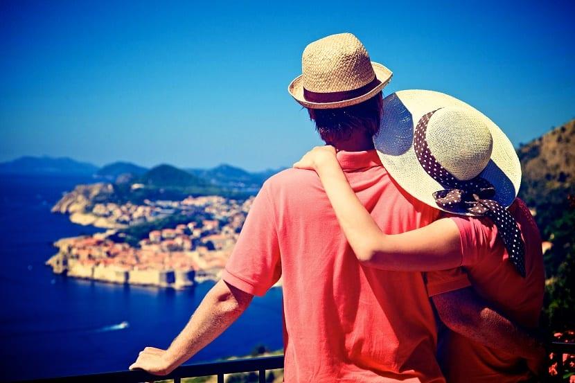 vacaciones en pareja