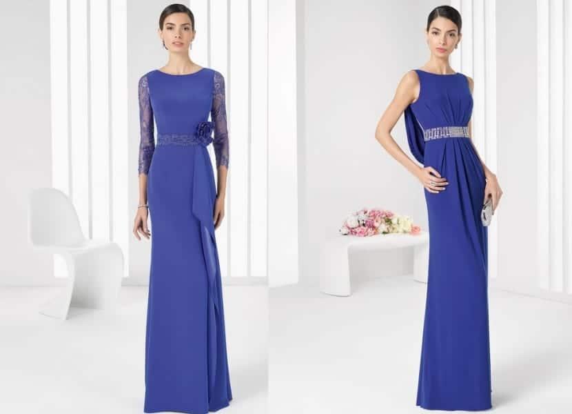 f34ddc06e ... siempre pensando en el color azul. Vestidos para boda en azul real