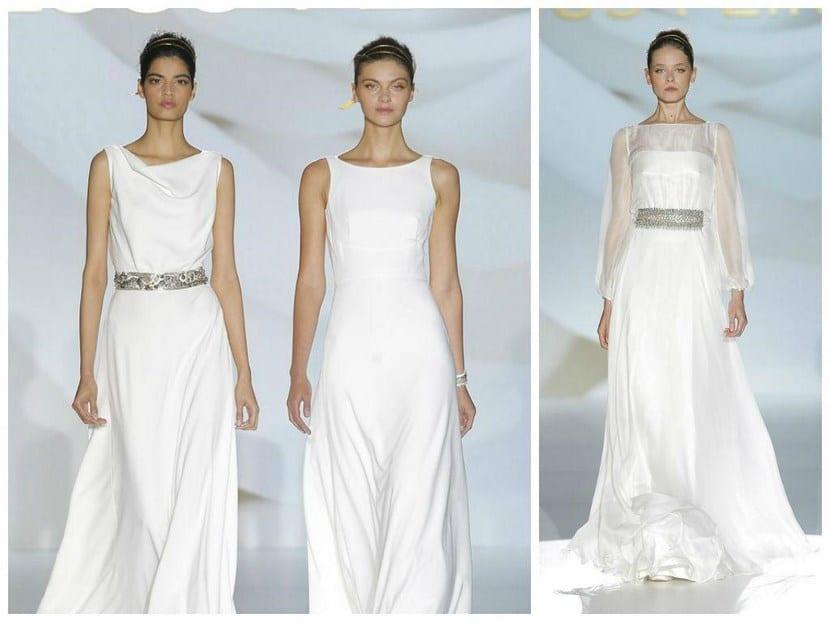Vestidos de novia sencillos para senoras