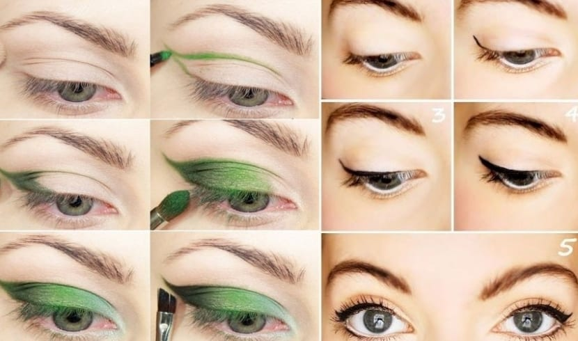 Maquillaje Cat Eyes
