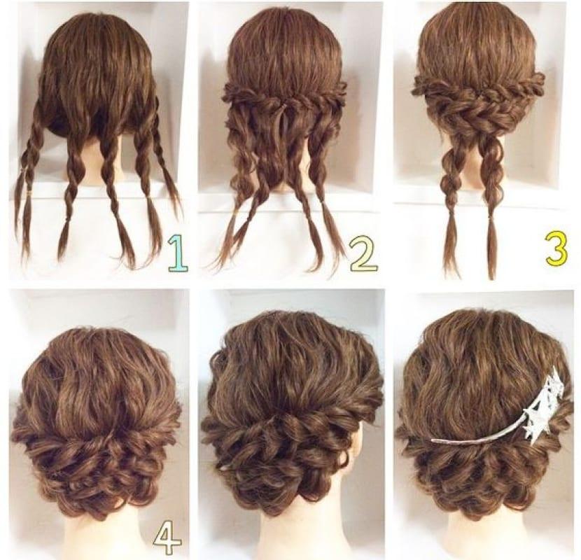 elegantes peinados bajos muy fáciles de hacer paso a paso