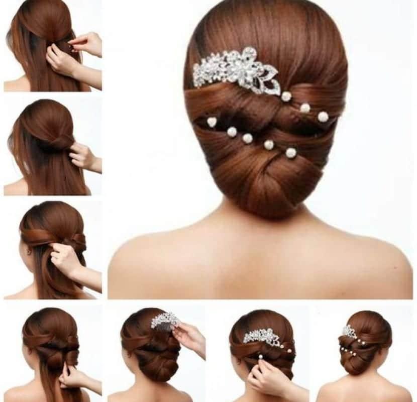 Elegantes Peinados Bajos Muy Faciles De Hacer Paso A Paso