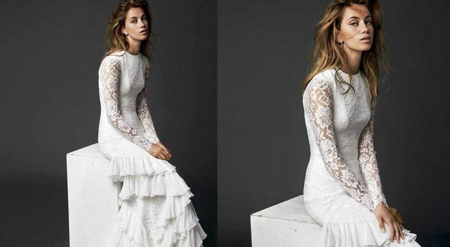 Vestido novia de Vicky Martín Berrocal