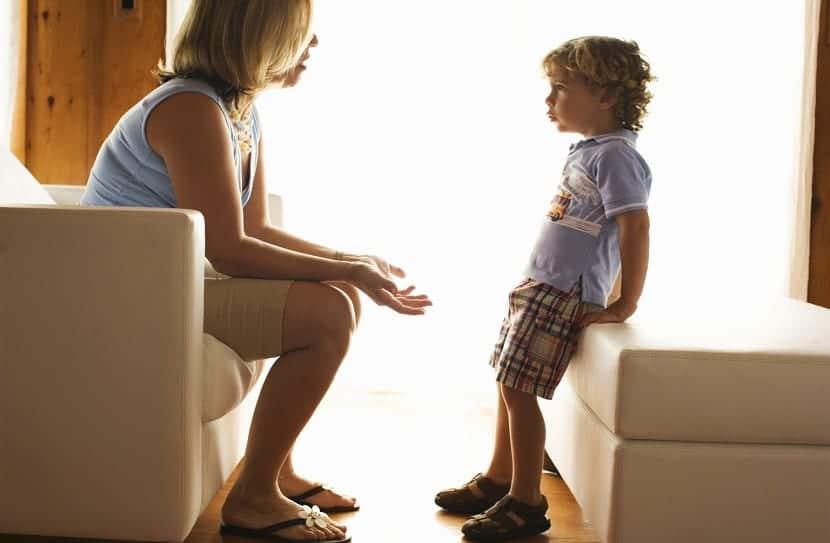 hablando con los hijos