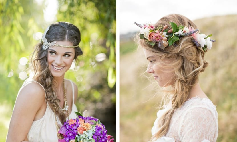 peinados de bodas para invitadas de otoño