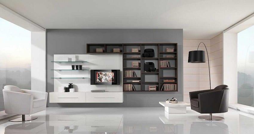 decoración con color negro