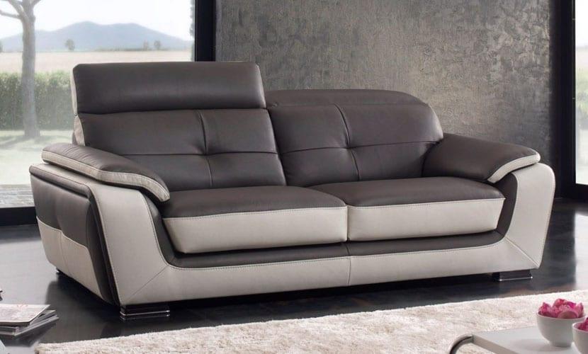 Por qu elegir los sof s de piel de gama alta for Sofas modulares piel