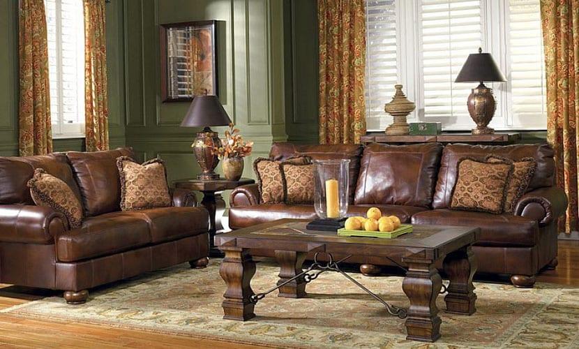 Por qu elegir los sof s de piel de gama alta - Sofa piel vintage ...