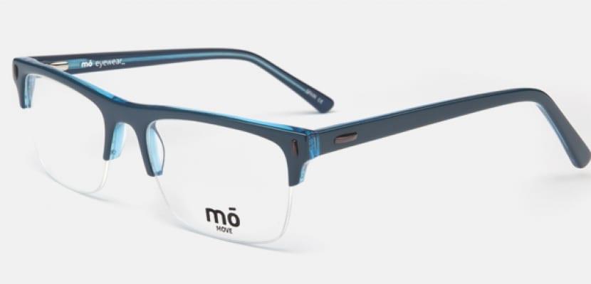 Gafas en color azul