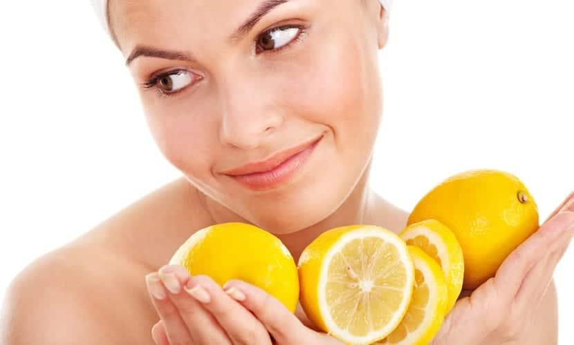 Mascarillas de limón