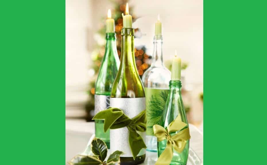 botellas-candelabro