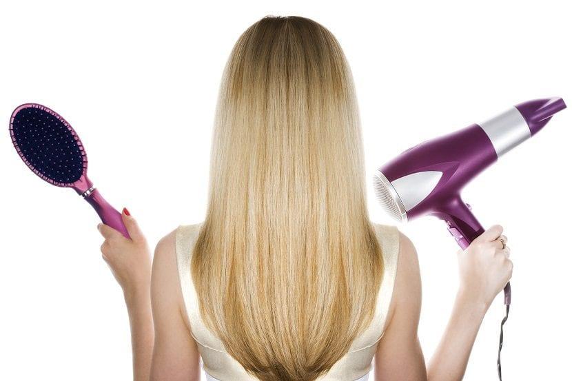 Cepillos adecuados para secar el pelo
