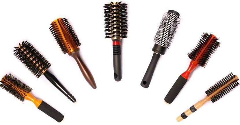 Cepillos redondos para el cabello