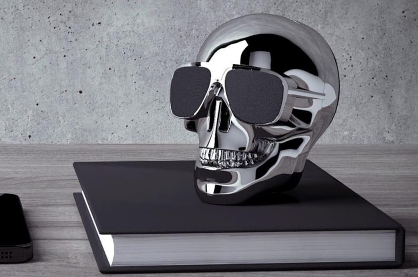 Altavoz cráneo