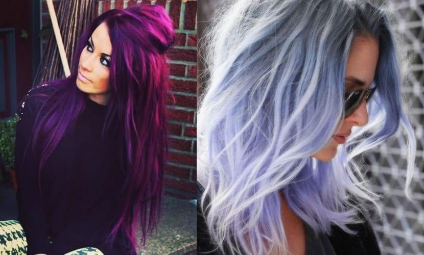 Color de pelo gris para morenas