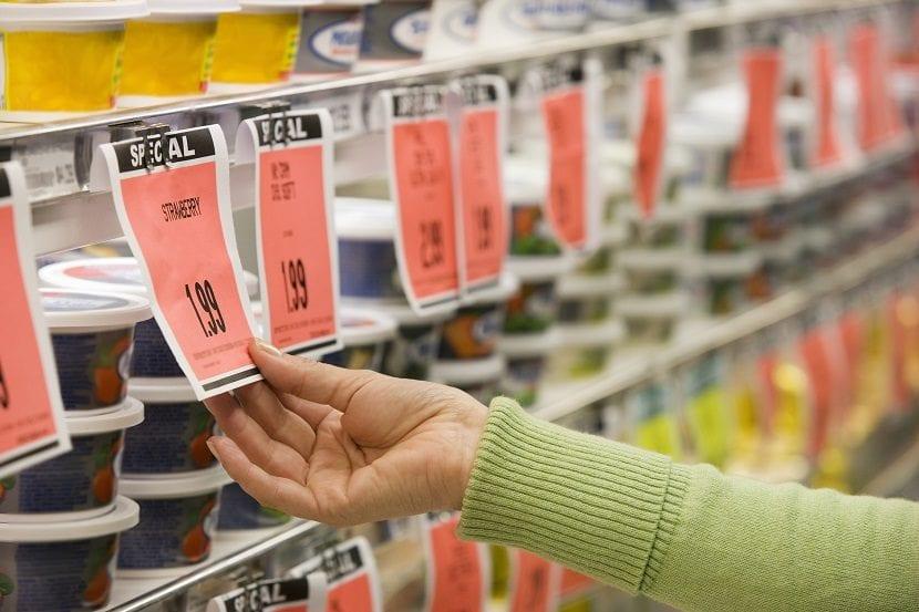 Precios con nueves de los supermercados