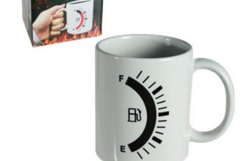 Taza desayuno calor