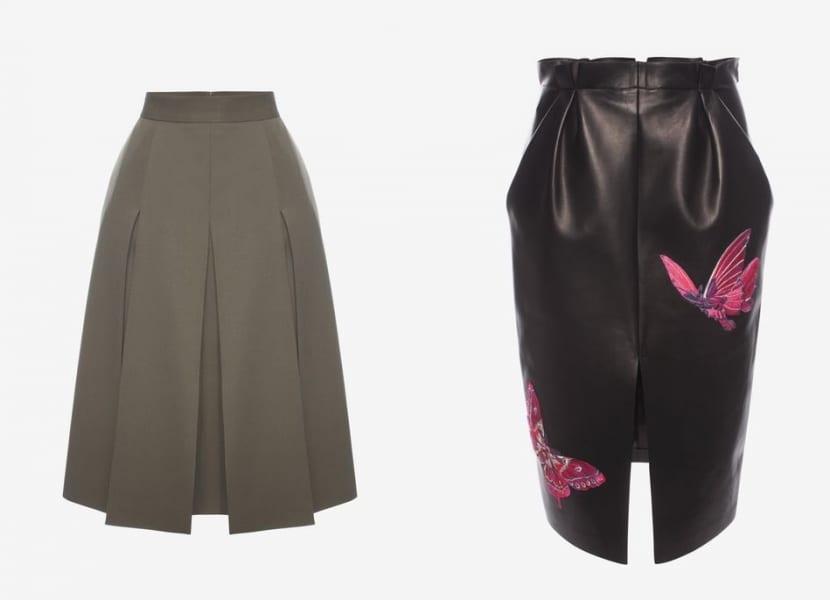Faldas para invierno