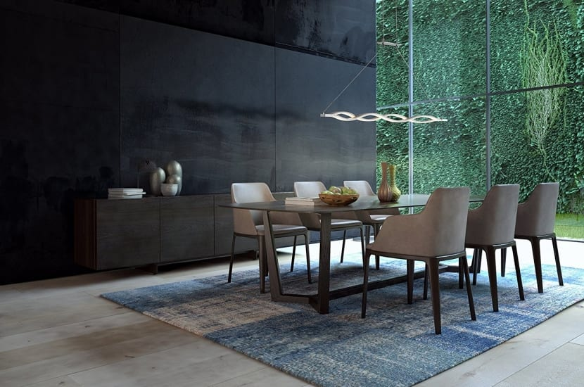 Comedor 5 complementos modernos para su decoraci n - Lamparas para comedores modernos ...