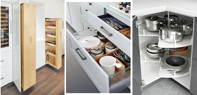 Razones para tener m s cajones en la cocina - Organizacion de armarios ...