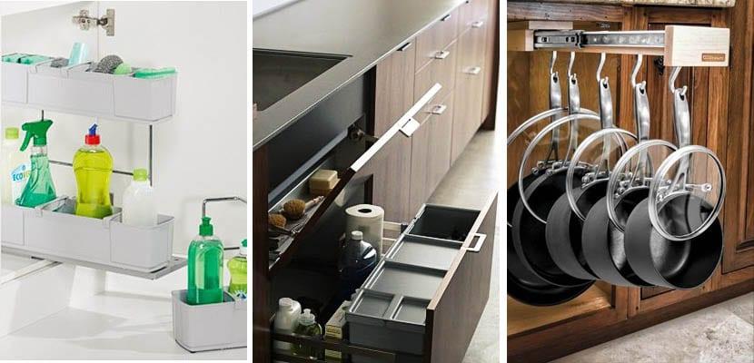 5 consejos para implementar el espacio de tus armarios de cocina - Interiores de cajones de cocina ...
