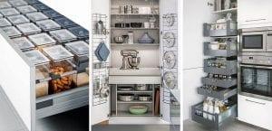 Organizar armarios de cocina