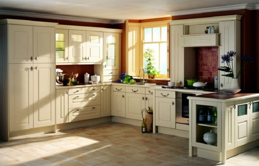 Muebles Para Cocina Color Blanco. Cocinas Mini Muy Prcticas With ...